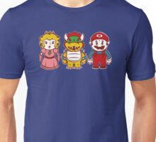 Chibi Mushroom Kingdom Unisex T-Shirt