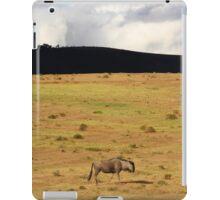 Lone Wildebeest iPad Case/Skin