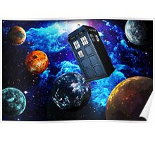 Doctor Who Space Poster