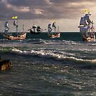 Moluccan Fleet by Nigel Donald