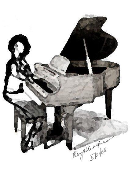 Roy Al Piano for Sarah Vaughn by * RoyAllenHunt *