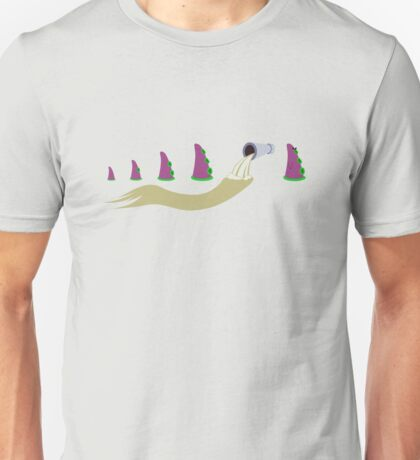 Evolution of Purple Tentacle Unisex T-Shirt