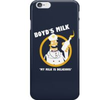 Boyd's Milk iPhone Case/Skin
