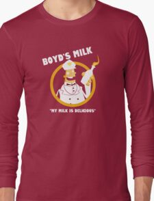 Boyd's Milk Long Sleeve T-Shirt