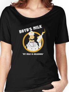 Boyd's Milk Women's Relaxed Fit T-Shirt
