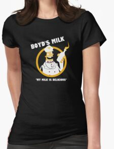 Boyd's Milk Womens Fitted T-Shirt