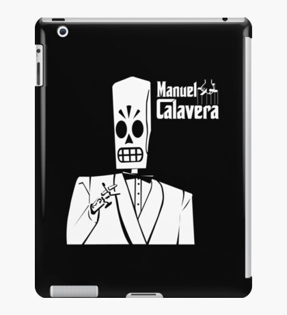 Godfather Manuel Calavera iPad Case/Skin