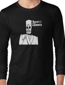 Godfather Manuel Calavera Long Sleeve T-Shirt