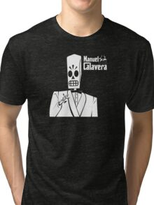 Godfather Manuel Calavera Tri-blend T-Shirt