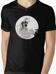 Dib and the E.T Mens V-Neck T-Shirt