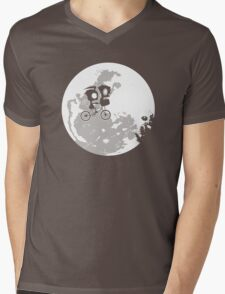 Dib and the E.T Mens V-Neck T-Shirt
