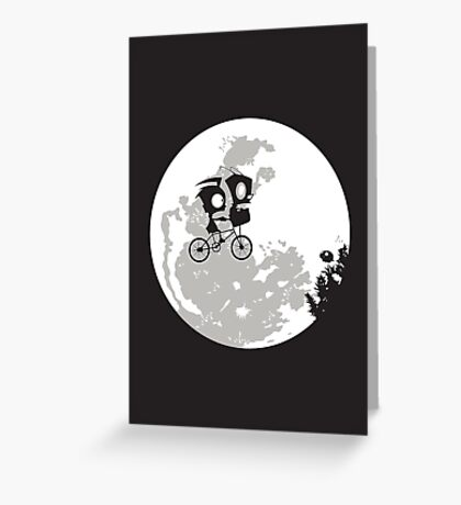 Dib and the E.T Greeting Card