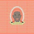 Tata Madiba - A Good Heart (in peach) by catherine bosman
