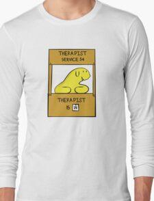 Hand Bananas Therapist Service Long Sleeve T-Shirt