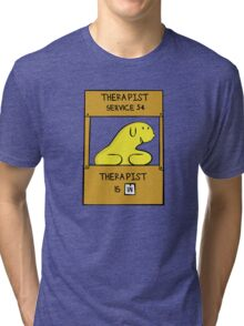 Hand Bananas Therapist Service Tri-blend T-Shirt