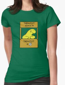 Hand Bananas Therapist Service Womens Fitted T-Shirt