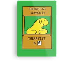 Hand Bananas Therapist Service Metal Print