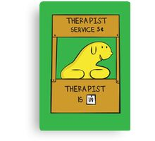 Hand Bananas Therapist Service Canvas Print