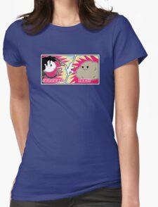 Scissors Vs Rock Womens Fitted T-Shirt