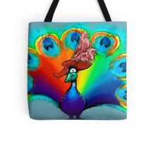 Red Hat Beauty Tote Bag