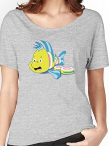 Flounder Sushi Women's Relaxed Fit T-Shirt