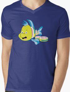 Flounder Sushi Mens V-Neck T-Shirt