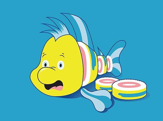 Flounder Sushi by Scott Weston