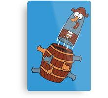 Pop - Up K'nuckles Metal Print