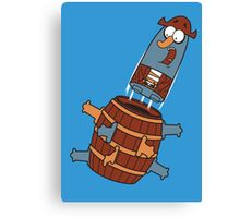 Pop - Up K'nuckles Canvas Print