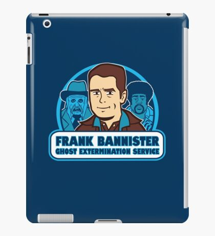 Frightener Ghost Extermination Service iPad Case/Skin