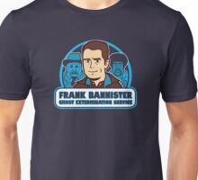 Frightener Ghost Extermination Service Unisex T-Shirt
