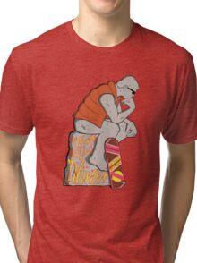 Think Mcfly, Think! Tri-blend T-Shirt