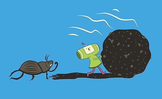 Dung Roller Katamari by Scott Weston