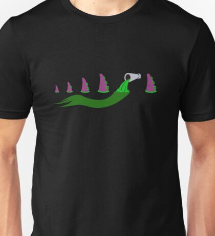 Evolution of Purple Tentacle Green Ooze Unisex T-Shirt