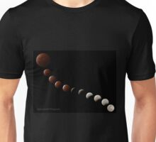 Total Lunar Eclipse 2014 Unisex T-Shirt