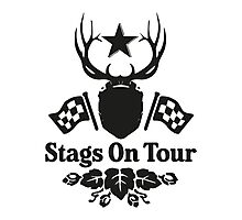 Stags On Tour - Stag Do - Karting T-Shirt Photographic Print