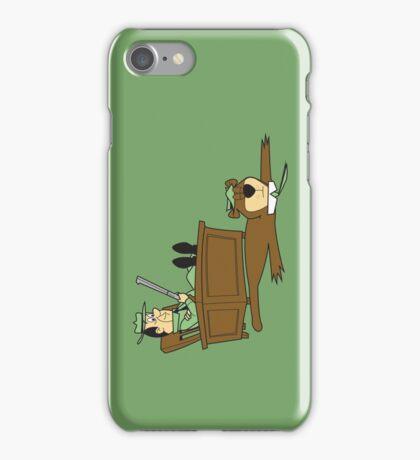 Yogi Bear rug iPhone Case/Skin