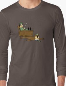 Yogi Bear rug Long Sleeve T-Shirt