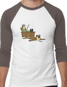 Yogi Bear rug Men's Baseball ¾ T-Shirt