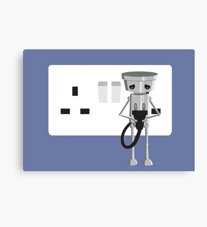 Imported Chibi Robo  Canvas Print