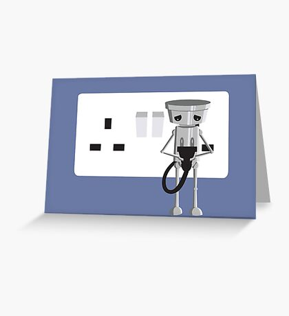 Imported Chibi Robo  Greeting Card