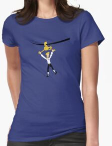 Rubber chicken with a pulley in the middle Womens T-Shirt