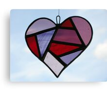 Love Heart Canvas Print
