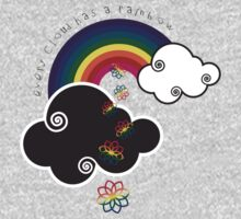 Every Cloud Has A Rainbow Kids Clothes