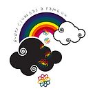 Every Cloud Has A Rainbow by catherine bosman