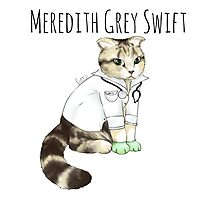 Doctor Meredith Grey Swift Photographic Print