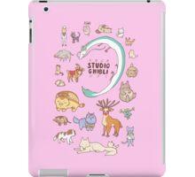Animals of Studio Ghibli iPad Case/Skin