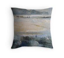 Sandsend, North Yorkshire Throw Pillow