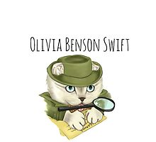 Detective Olivia Benson Swift by teatimetay13