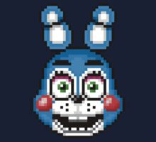 Five Nights at Freddy's 2 - Pixel art - Toy Bonnie One Piece - Long Sleeve